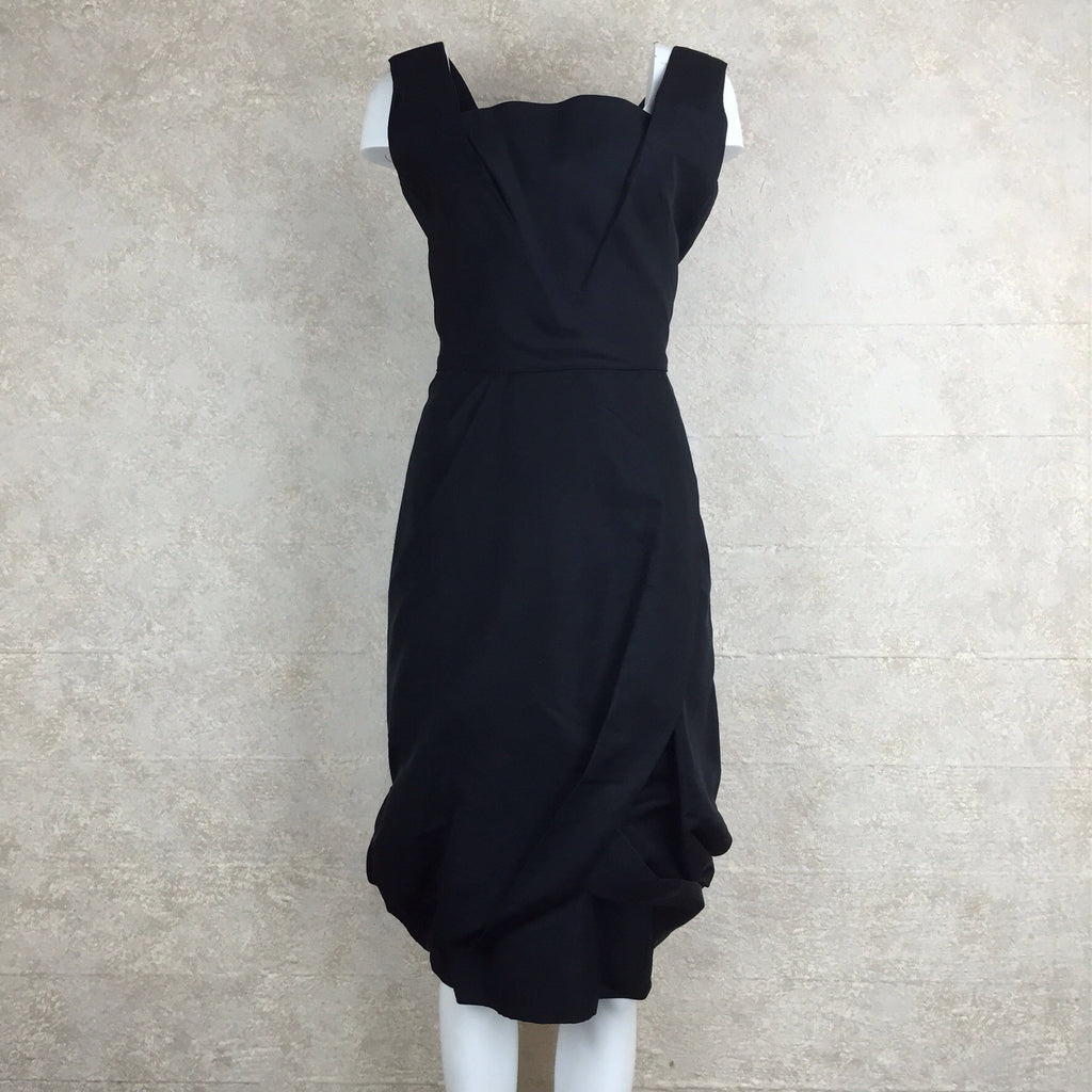Vintage 60s Bubble Swag Cocktail Dress, Front