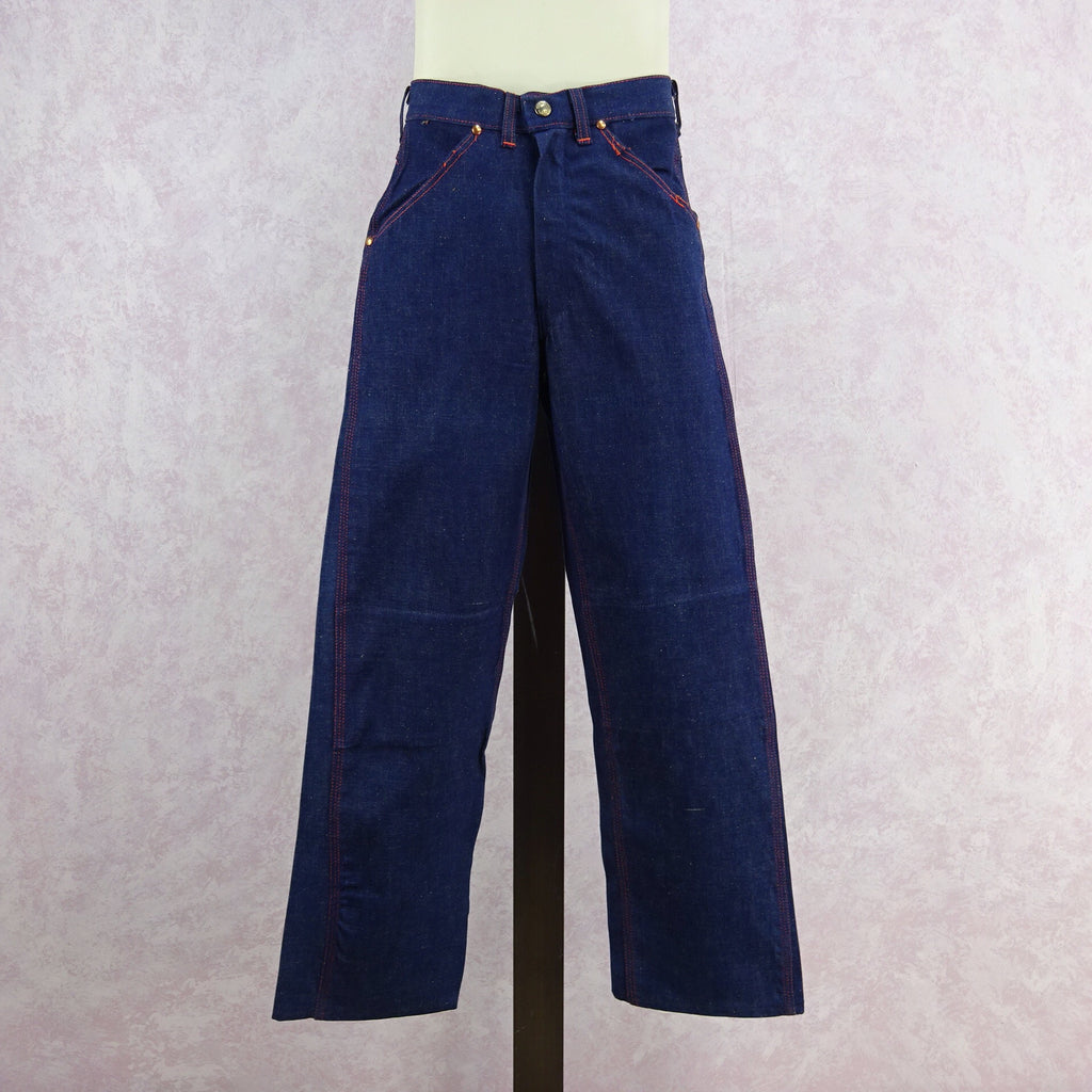 Vintage 50s BIG YANK Denim Pants/ Dungarees, Front
