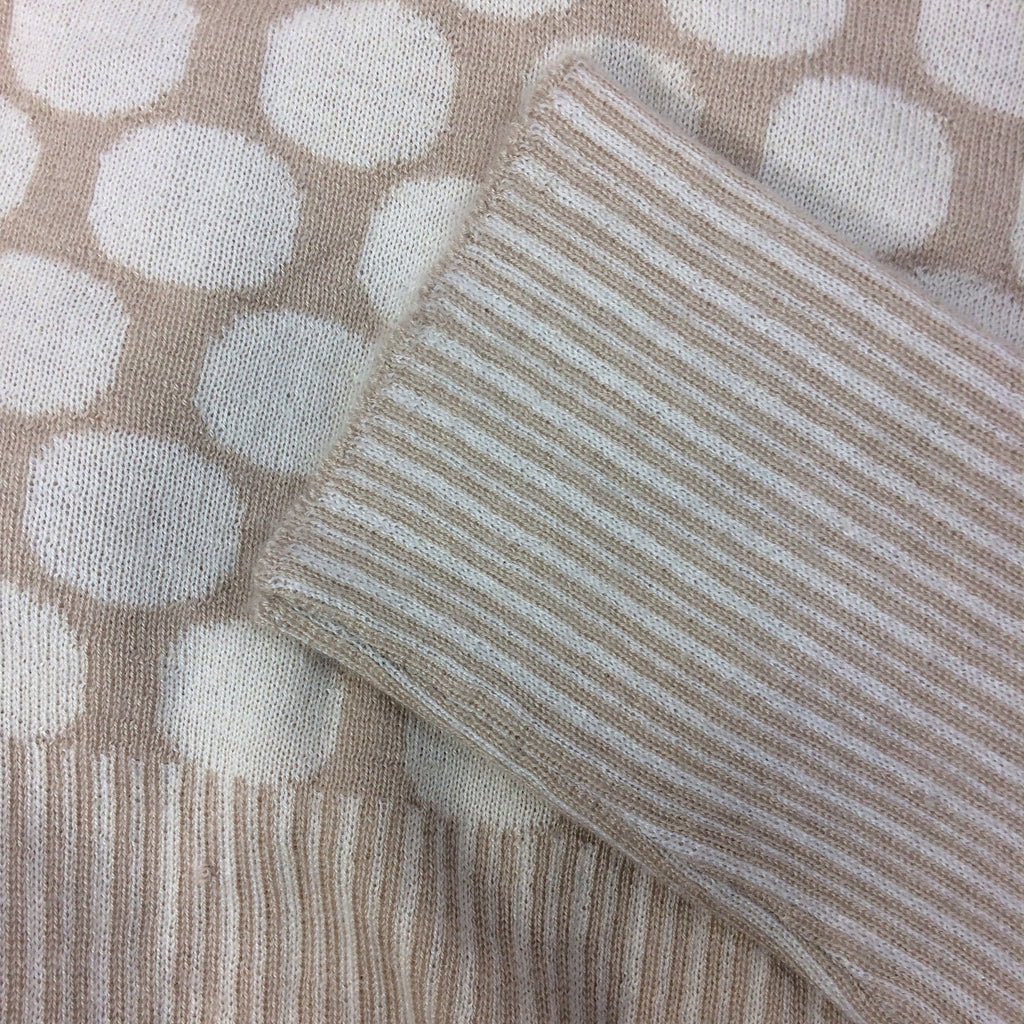 2000s BILL BLASS Cashmere Blend Twinset, Close up