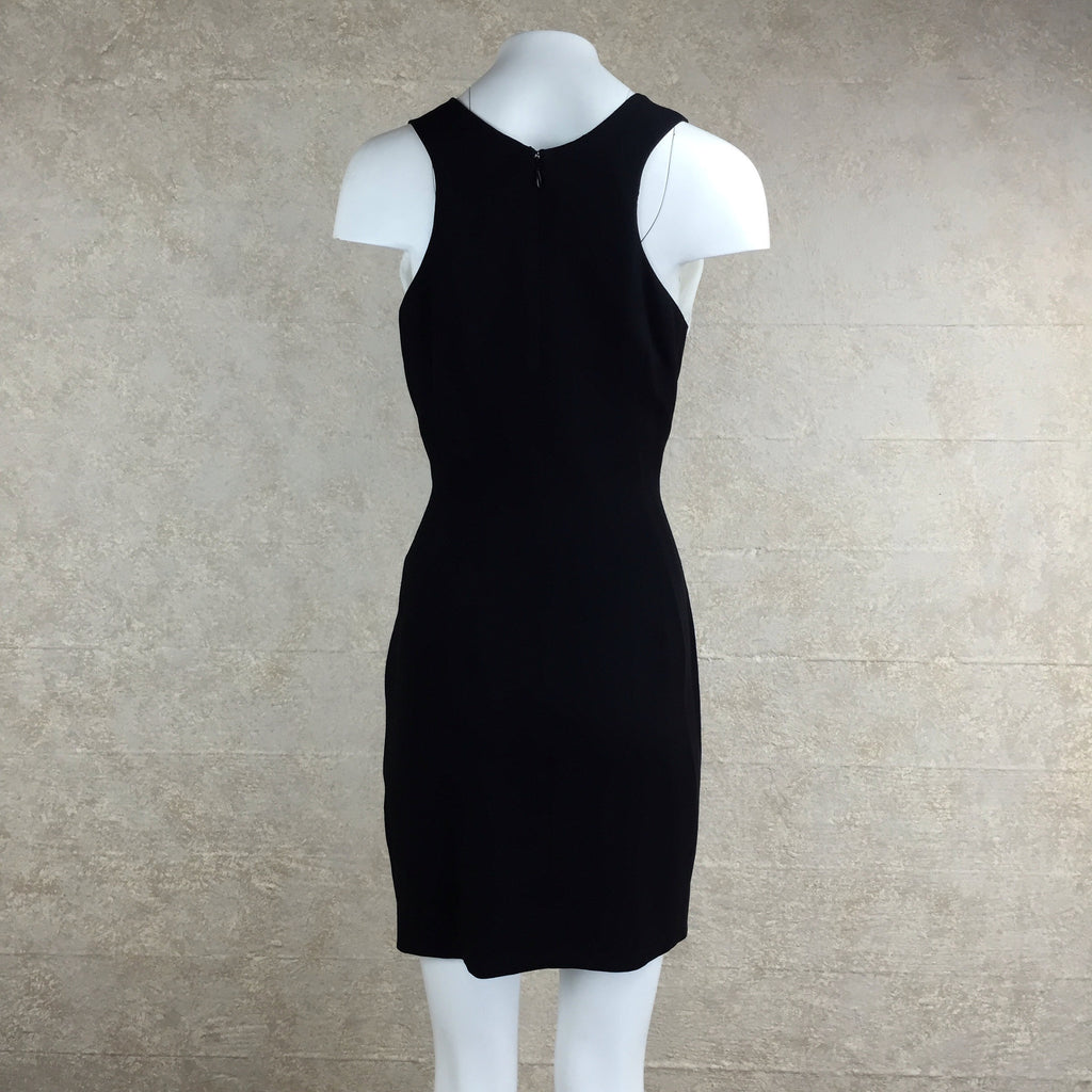 2000s Nicole Miller Color Block Dress, back