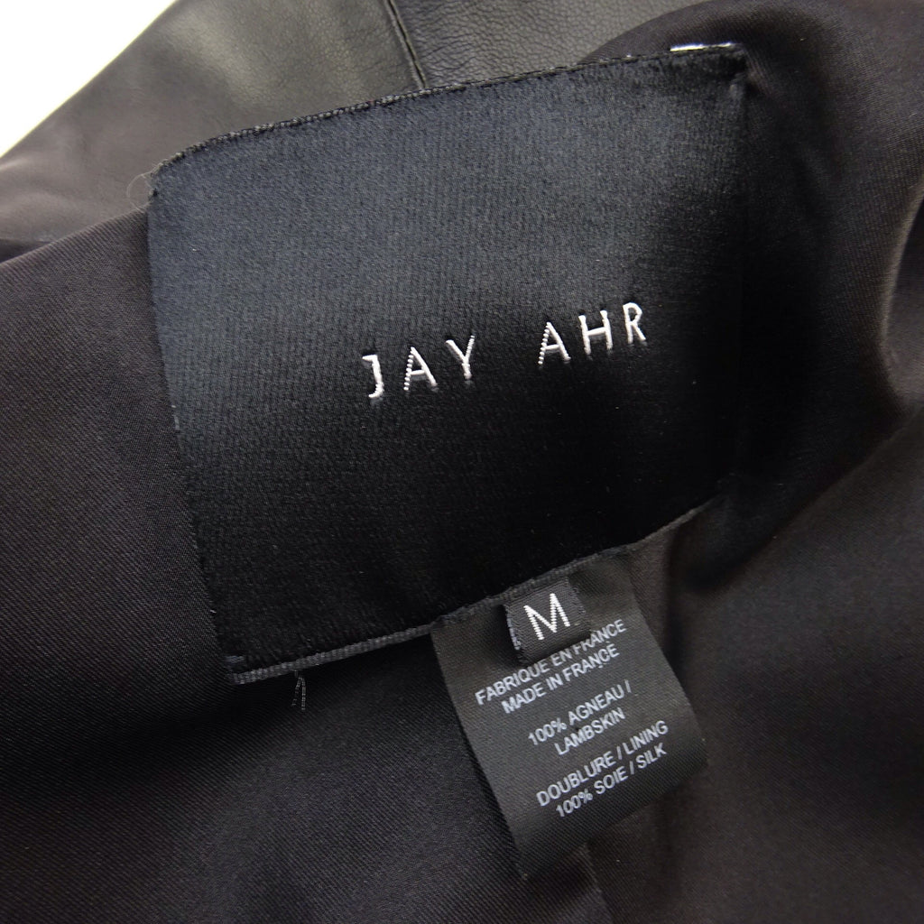 2000s JAY AHR Tailored Leather Blazer, NOS t