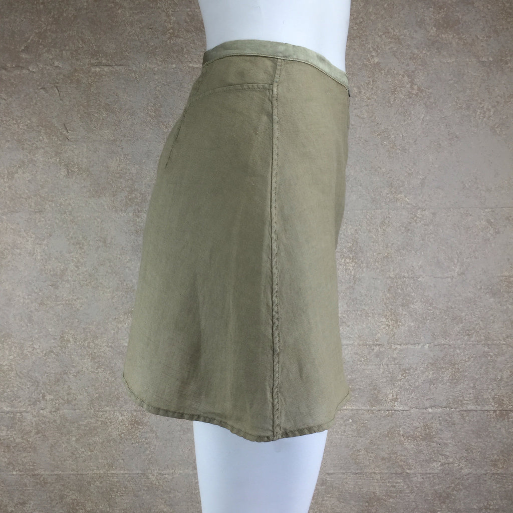 2000s BLUE SYSTEM Flax Skirt, Side