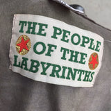Vintage 90s THE PEOPLE OF THE LABYRINTHS Blouse, Label