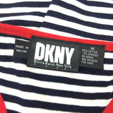 2000s DKNY Striped Tank Top w/Racer Back, Label