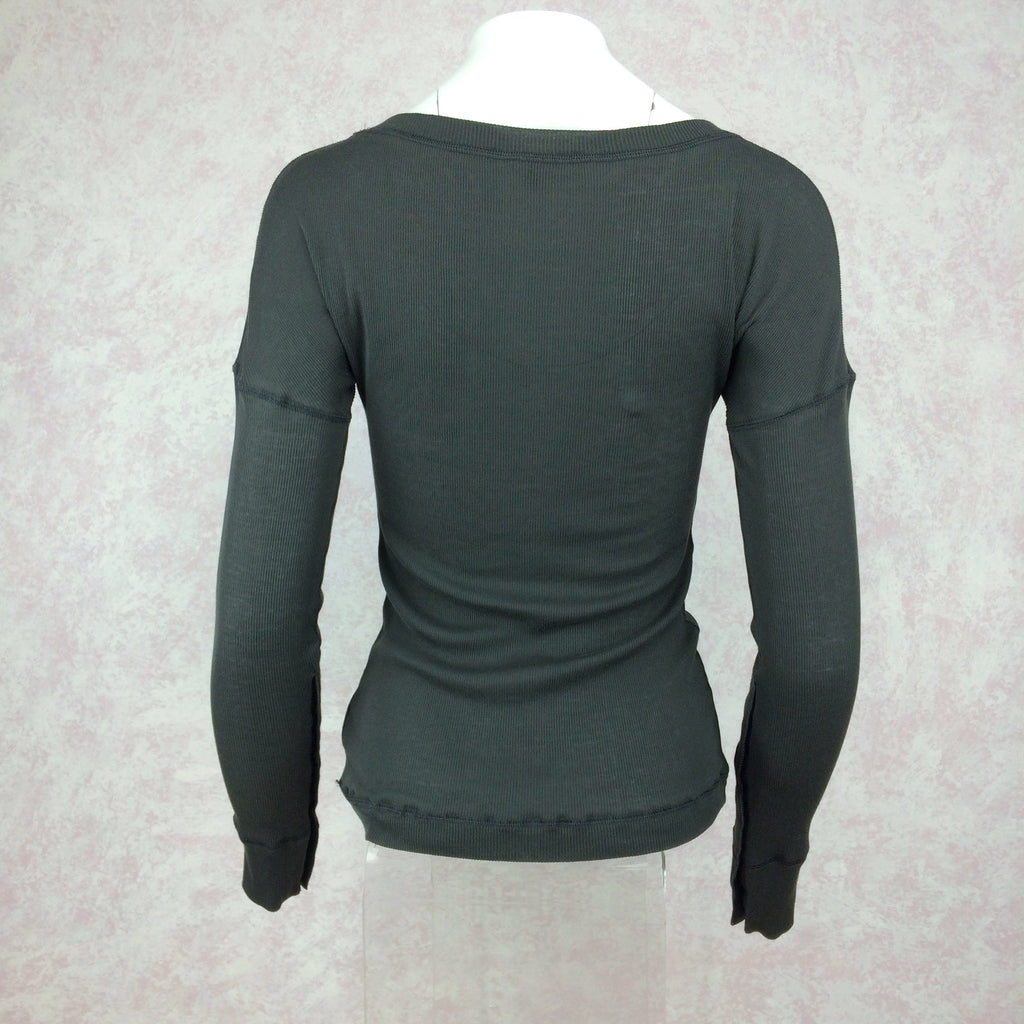 2000s GUCCI Ribbed Knit Pullover back