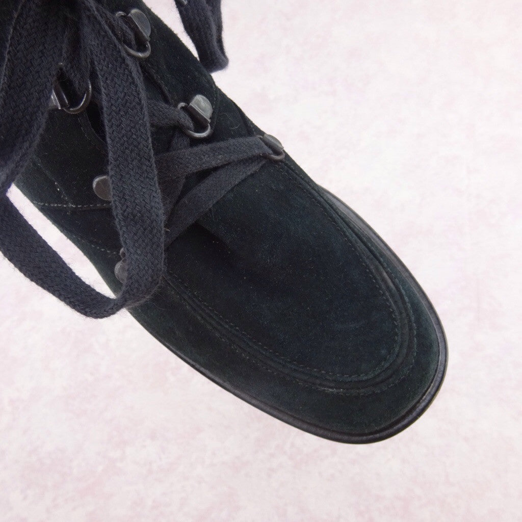2000s Suede Lace-Up Outdoor Boots bvc