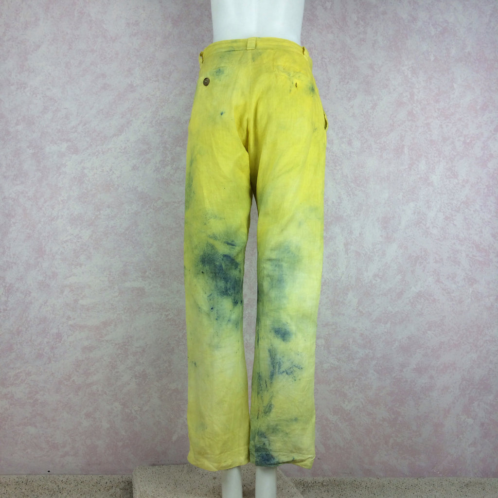 The People of the Labrynths Tie Dye Slacks front