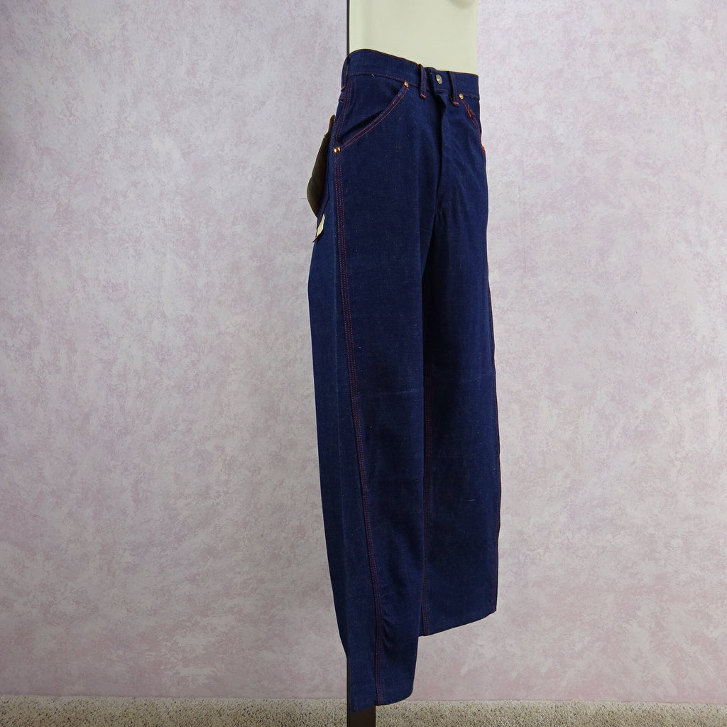 Vintage 50s BIG YANK Denim Pants/ Dungarees, Side