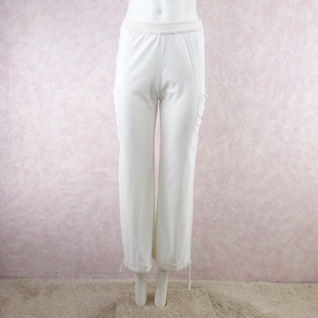 2000s SONIA RYKIEL White Cotton Sweat Pants