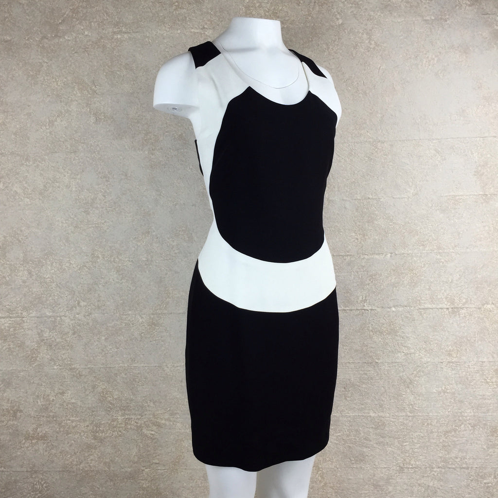 2000s Nicole Miller Color Block Dress, side