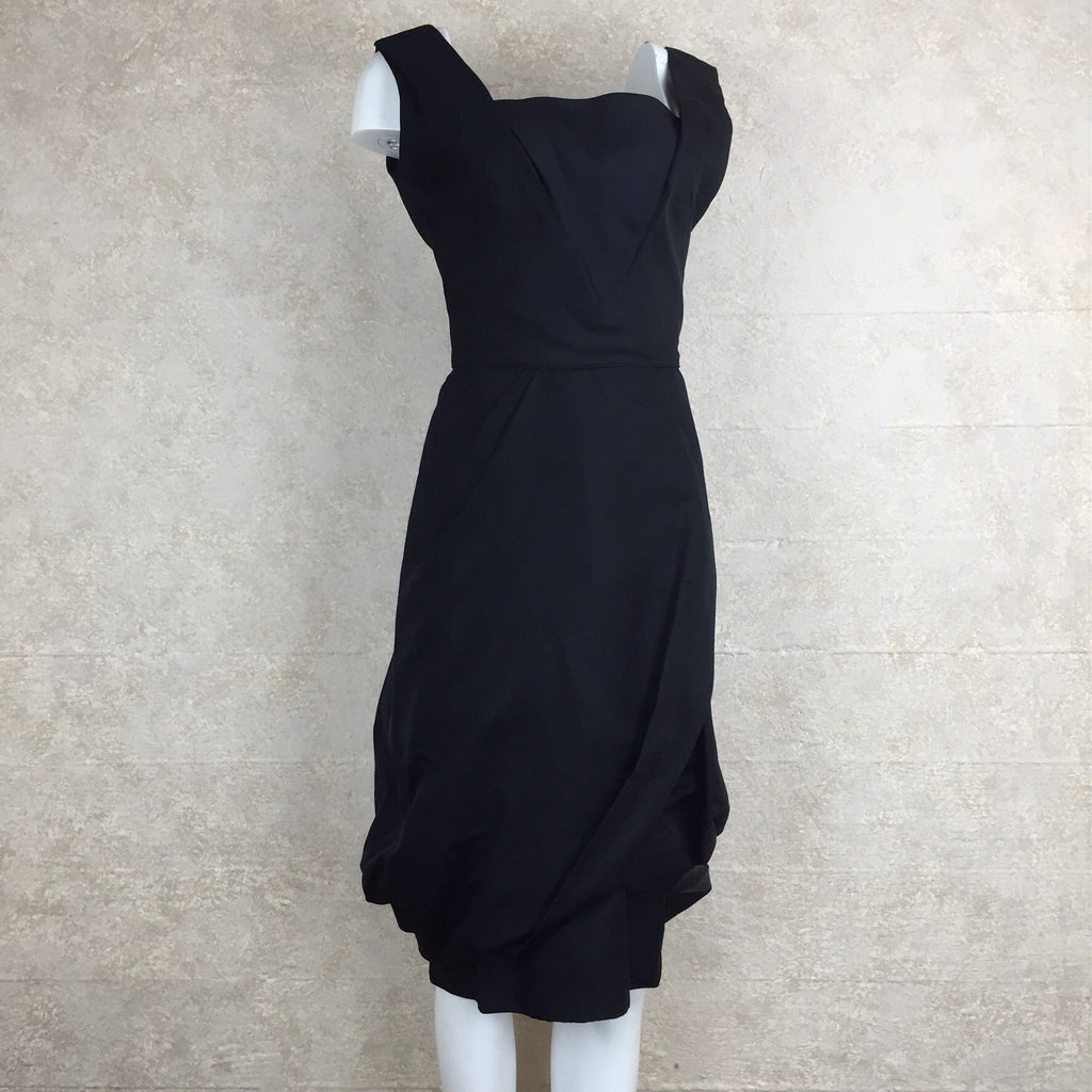 Vintage 60s Bubble Swag Cocktail Dress, Side
