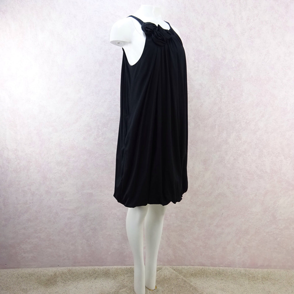 2000s Knit Jersey Gathered Sleeveless Shiftd
