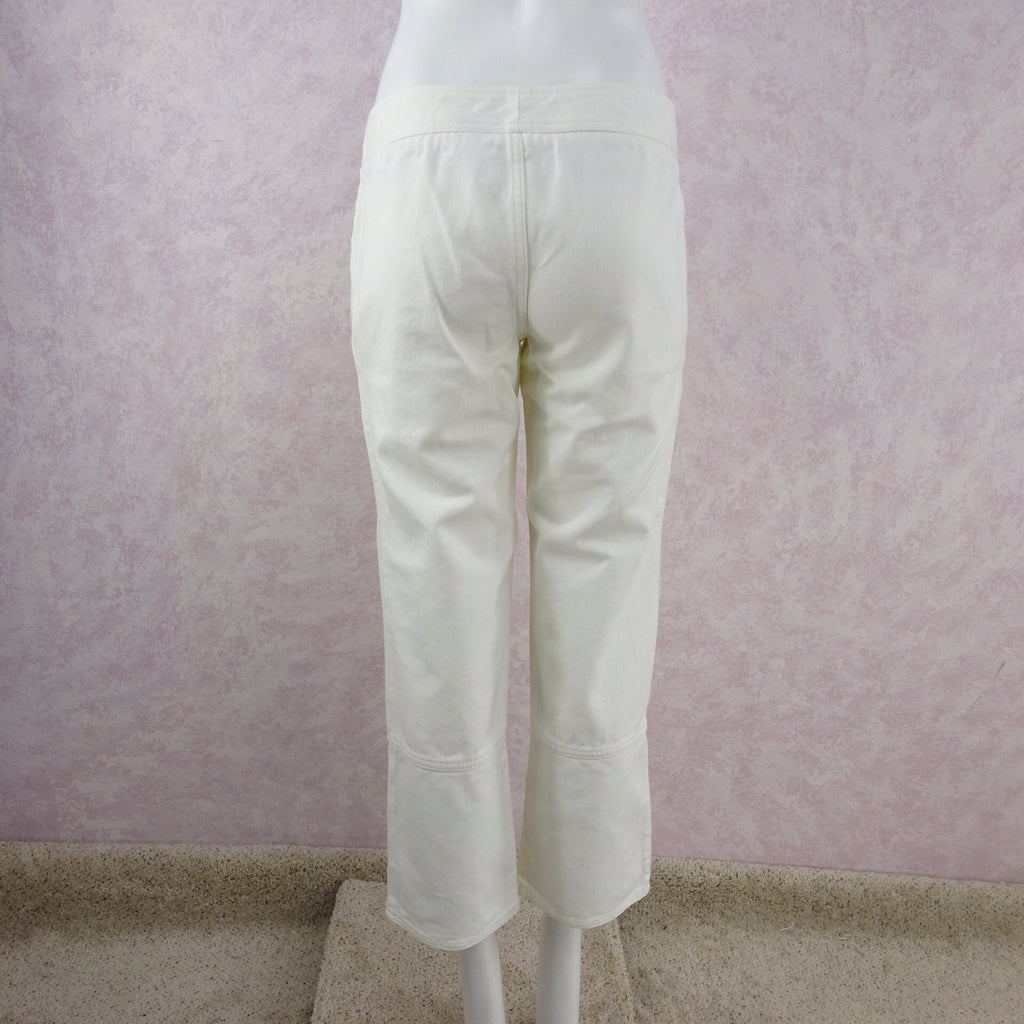 2000s GUCCI White Denim Jeans NWT side 2