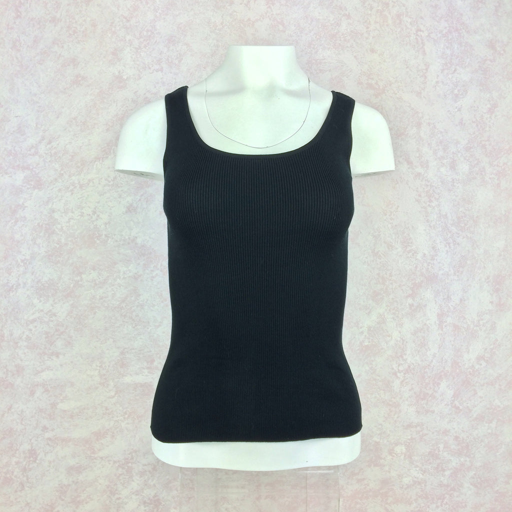 2000s GUCCI Ribbed Tank Top, NWT front