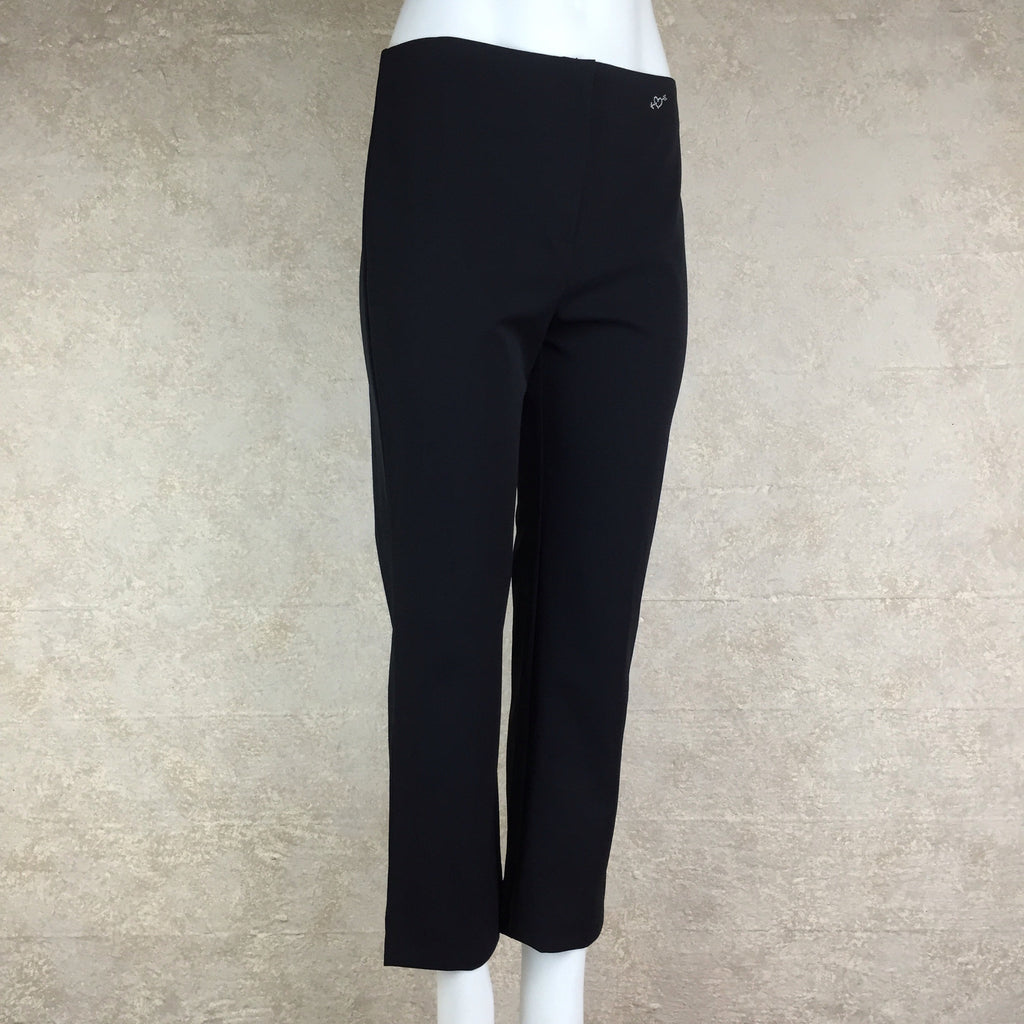 2000s BLUMARINE Slight Flare Stretch Pants, Side 2