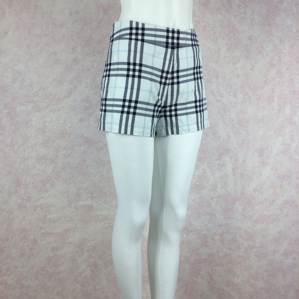 2000s BURBERRY Checked shorts side