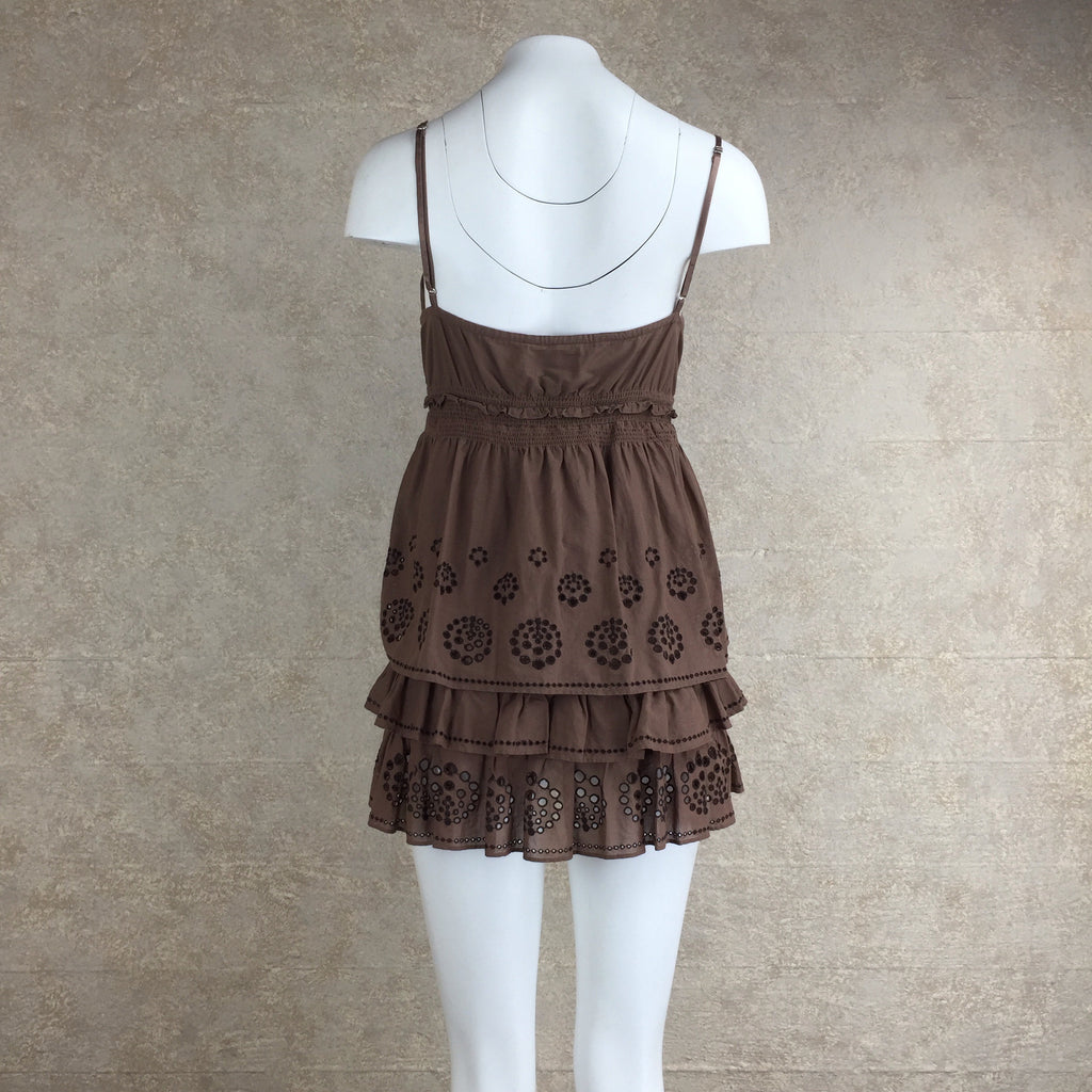 2000s JUICY COUTURE Tiered Cotton Dress, Back