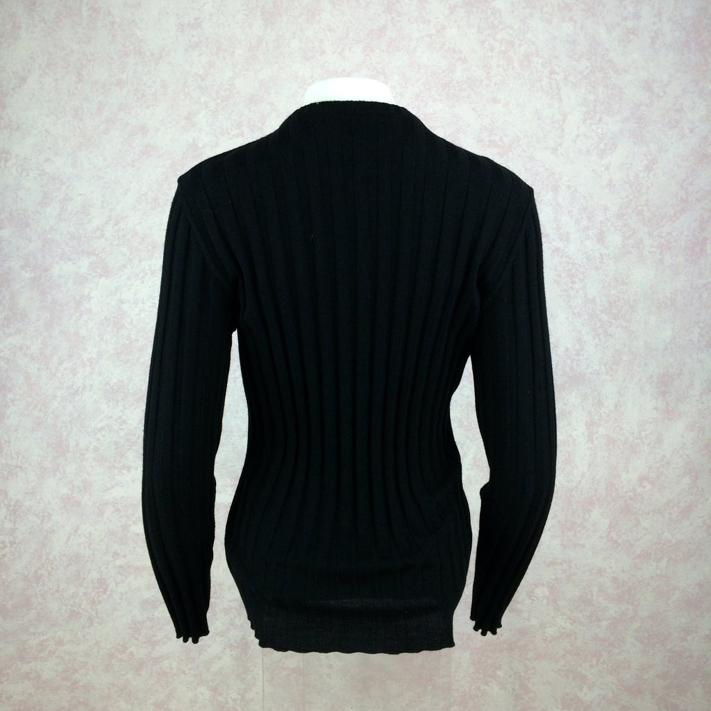 2000s BLUMARINE Knit Zip Front Sweater, NOSjk