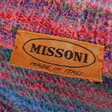 Vintage 90s MISSONI Multi-Color Stripe Bouclé Cardigan freddd
