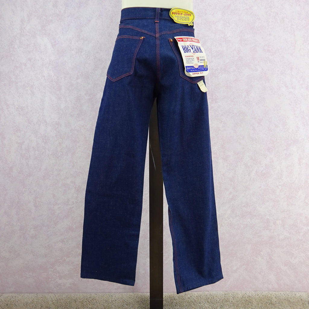 Vintage 50s BIG YANK Denim Pants/ Dungarees, Back