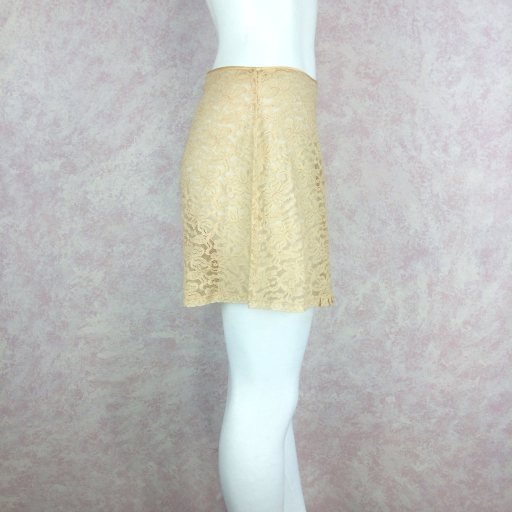 Vintage 40s Lace Tap Pants w/Fig Leaf, Side 2