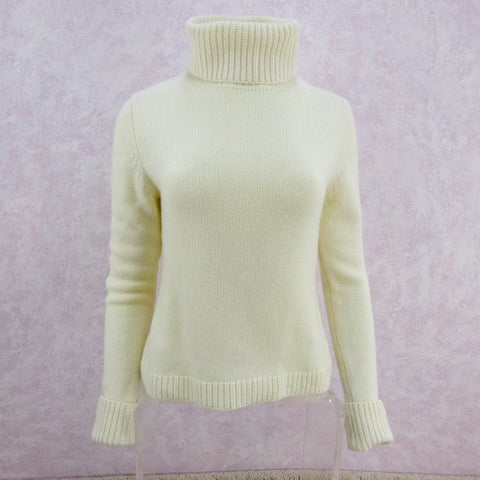 Vintage 60s Camel Double Breasted Sweater, NOS