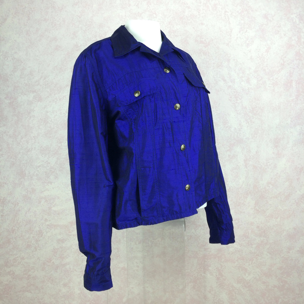 2000s ROMEO GIGLI Snap Front Jacket side 2