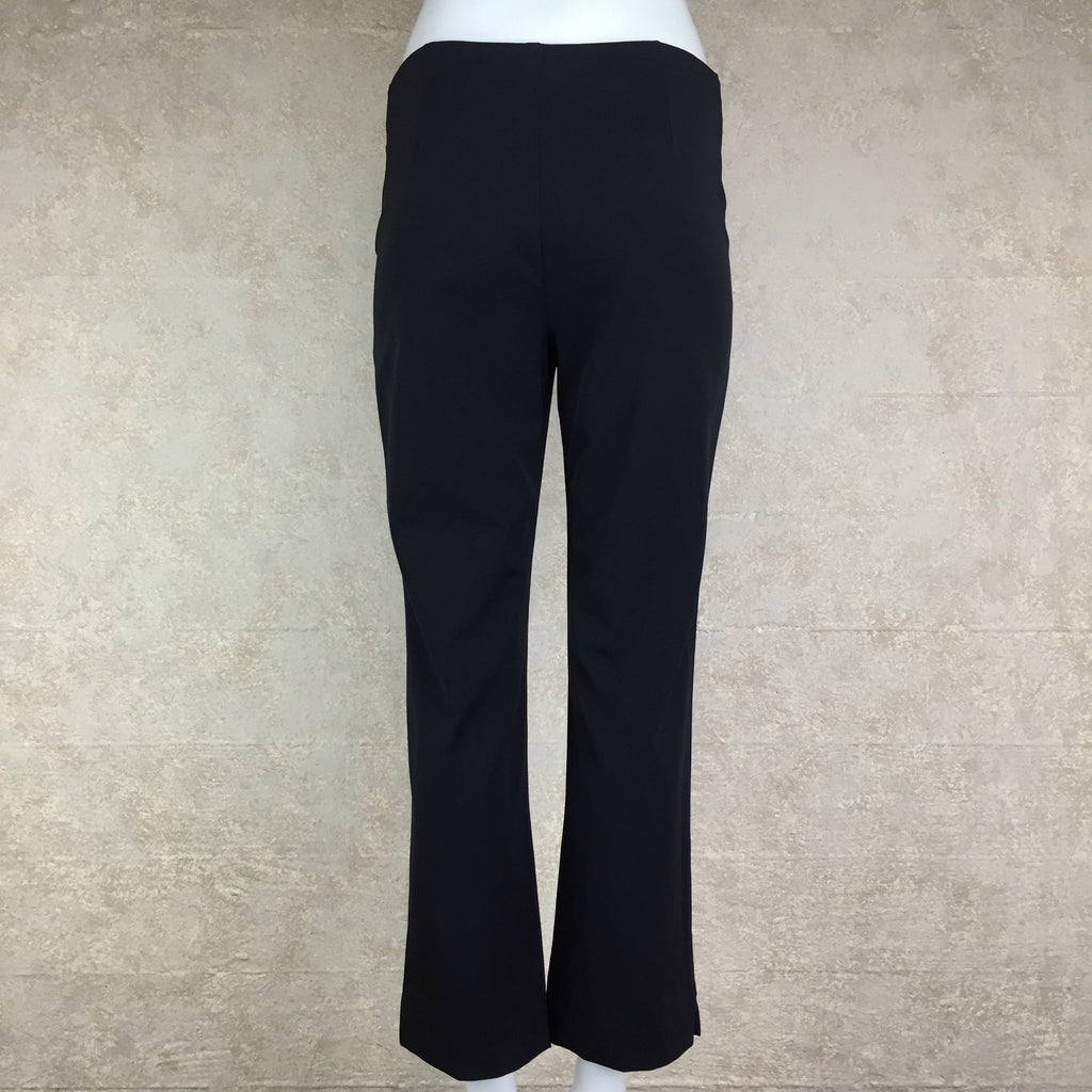 2000s BLUMARINE Slight Flare Stretch Pants, Back