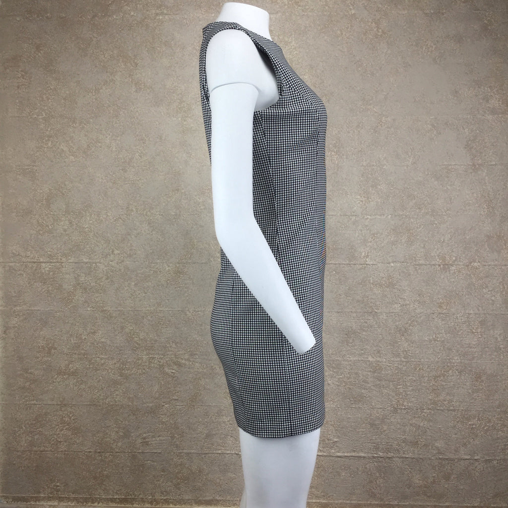 2000s CATALYST Check Sheath Dress, Side 2