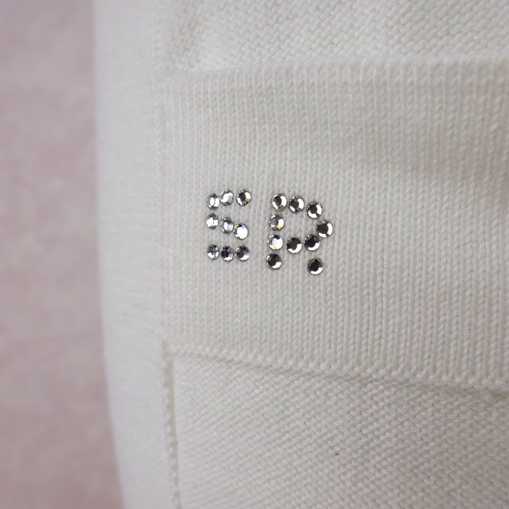 2000s SONIA RYKIEL White Cotton Sweat Pants eedd