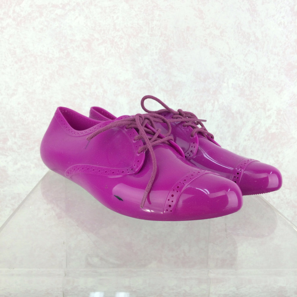 2000s MELISSA Plastic Oxfords, Side