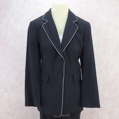 Vintage 90s MUGLER Zip-Front Tailored Stretch Dress/ Coat