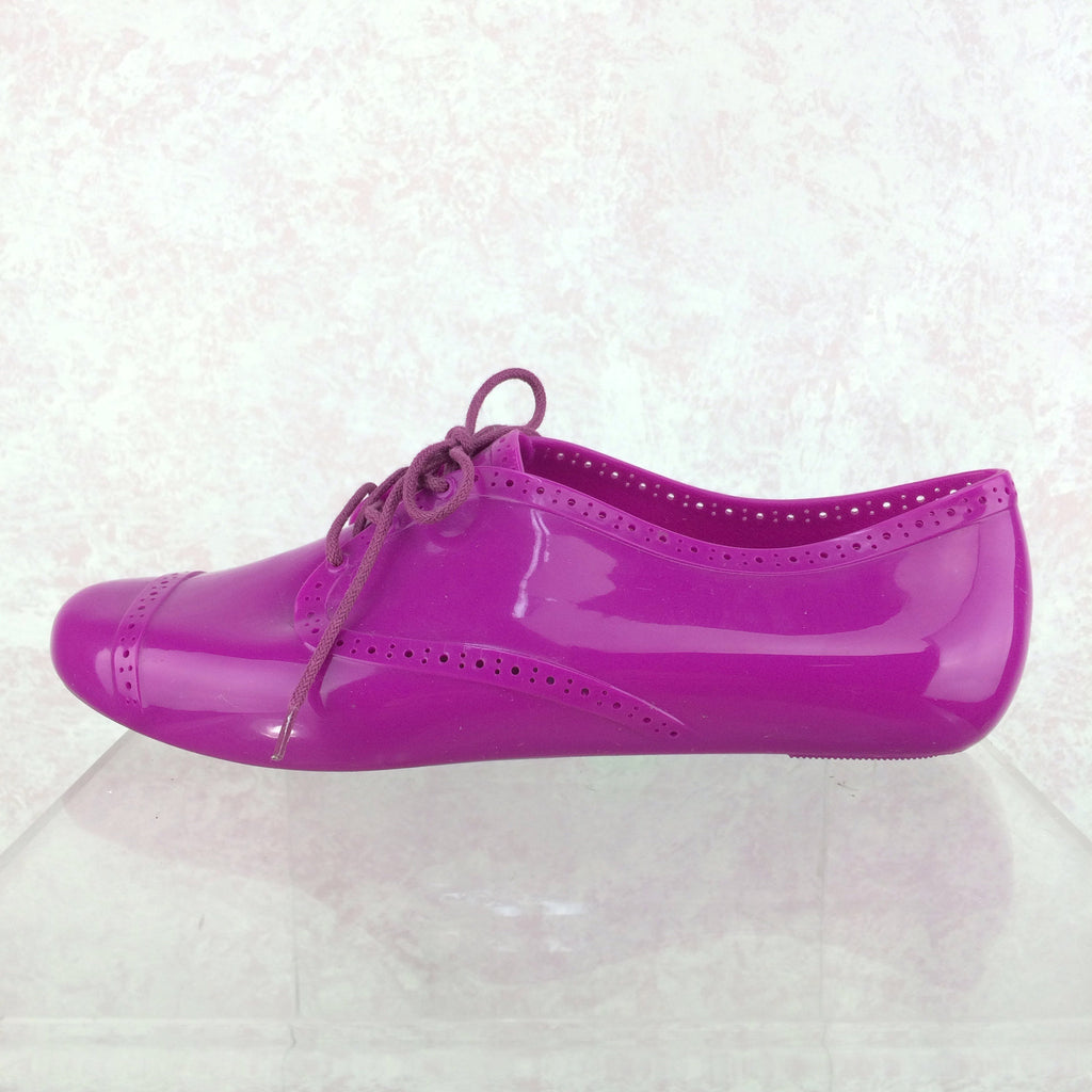2000s MELISSA Plastic Oxfords, Side solo