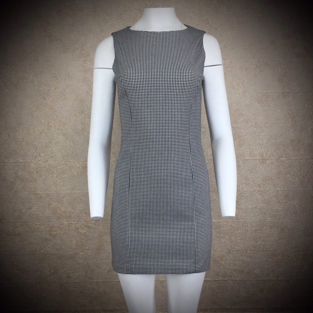 2000s CATALYST Check Sheath Dress, NWT