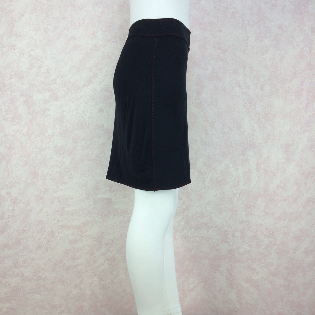 2000s Stretch Knit Body Hugging Skirt, Side 2