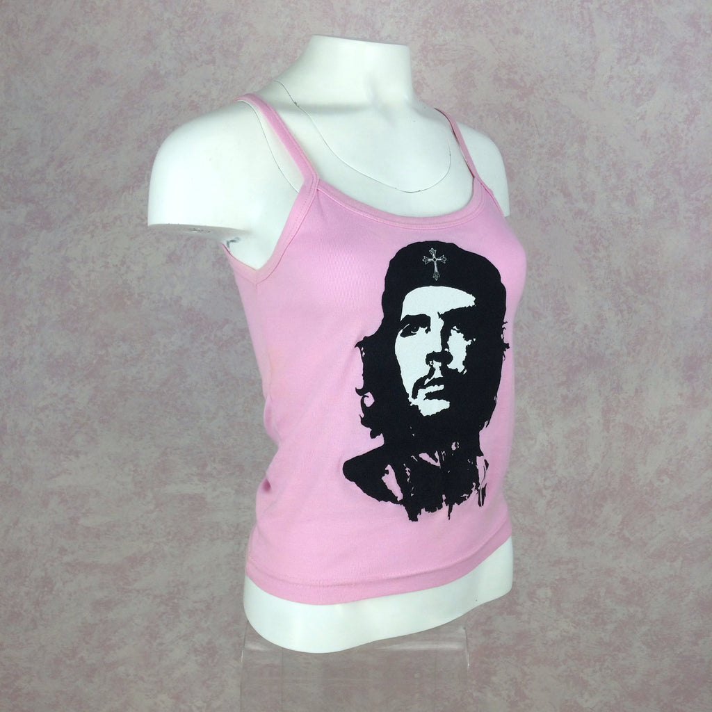 2000s A + G Pink Che Guevara Tank Top, Side