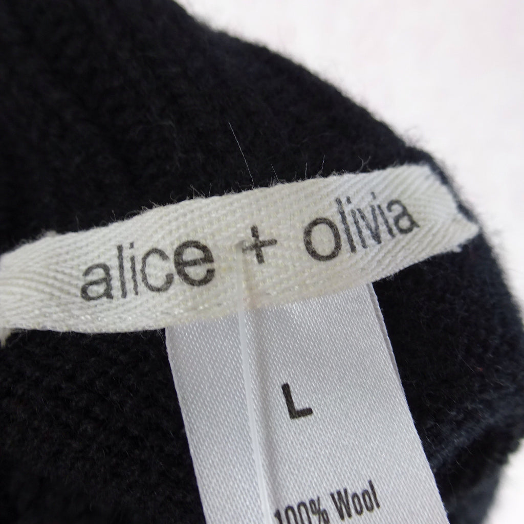 2000s ALICE + OLIVIA Sleeveless Belted Sweater, Label