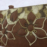 Vintage 40s Purse w/Floral Soutached