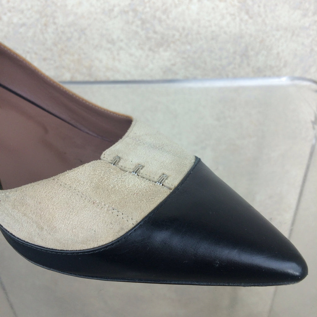 2000s TABITHA SIMMONS Two-Tone Pumps, Toe detail