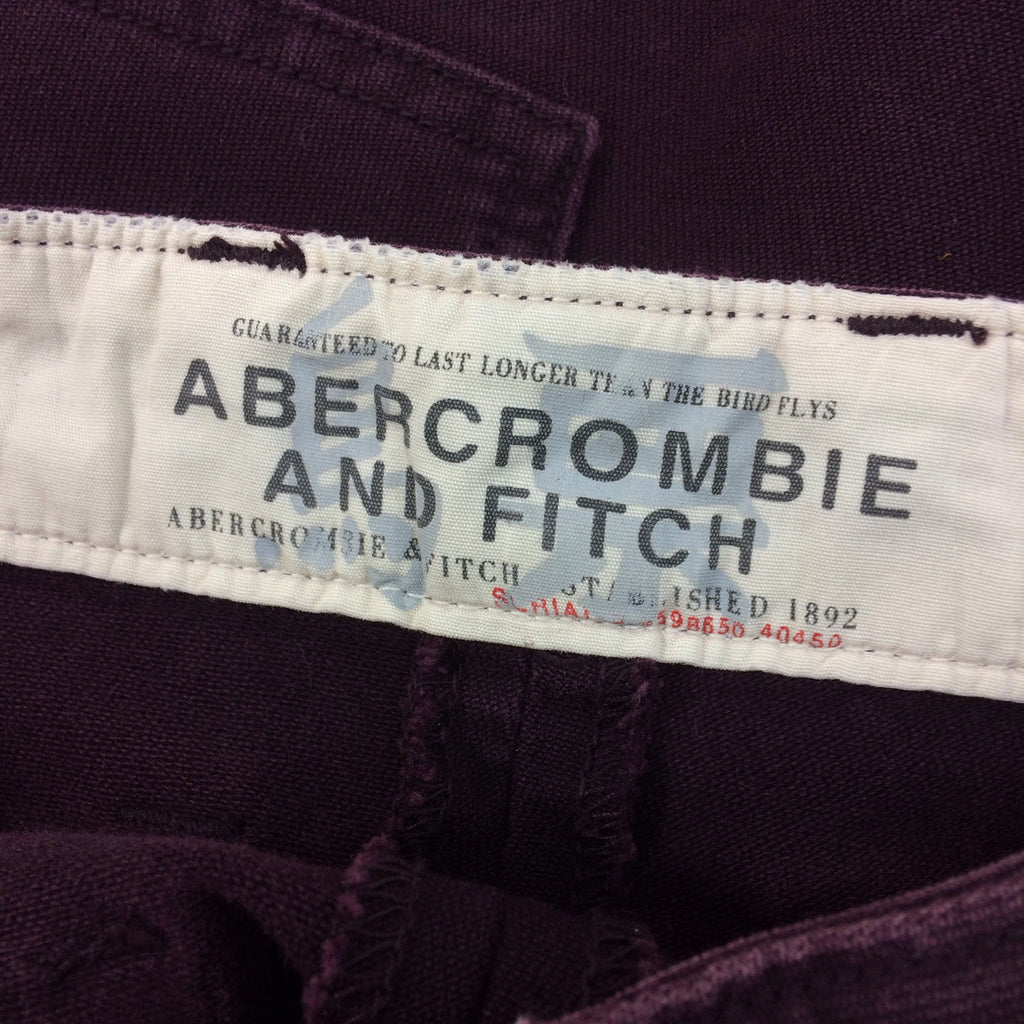 2000s ABERCROMBIE & FITCH Denim Shorts, Label