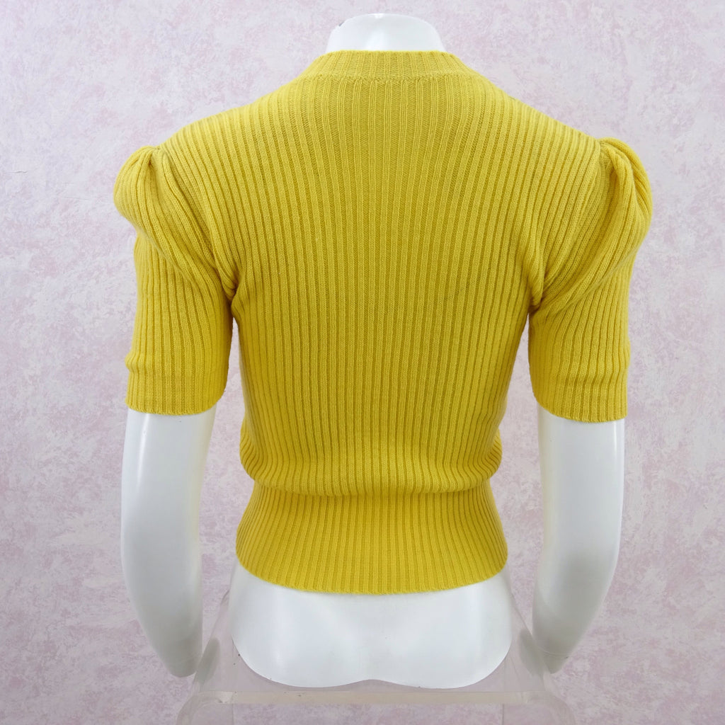 Vintage 40s Ribbed Wool Top ff