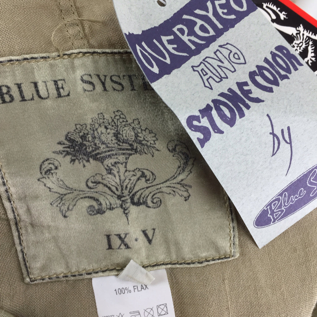 2000s BLUE SYSTEM Flax Skirt, Tags