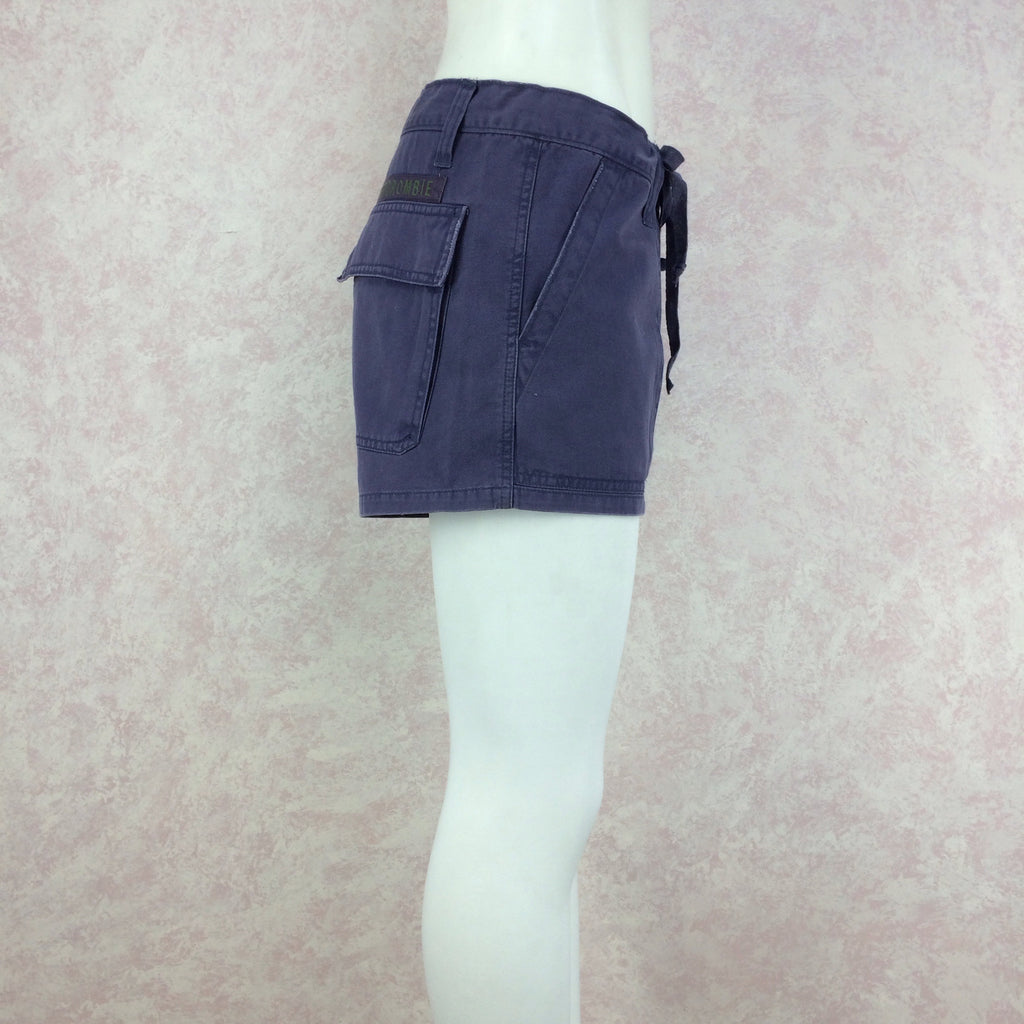 2000s ABERCROMBIE Cargo Shorts, Side