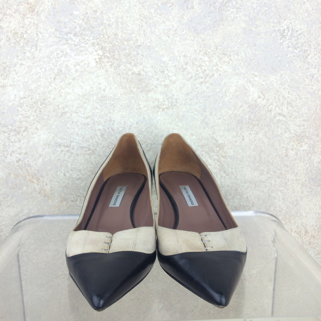 2000s TABITHA SIMMONS Two-Tone Pumps, Front
