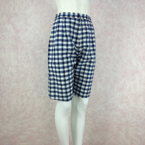 Vintage 90s GO SILK Silk Stripes Shorts, NOS