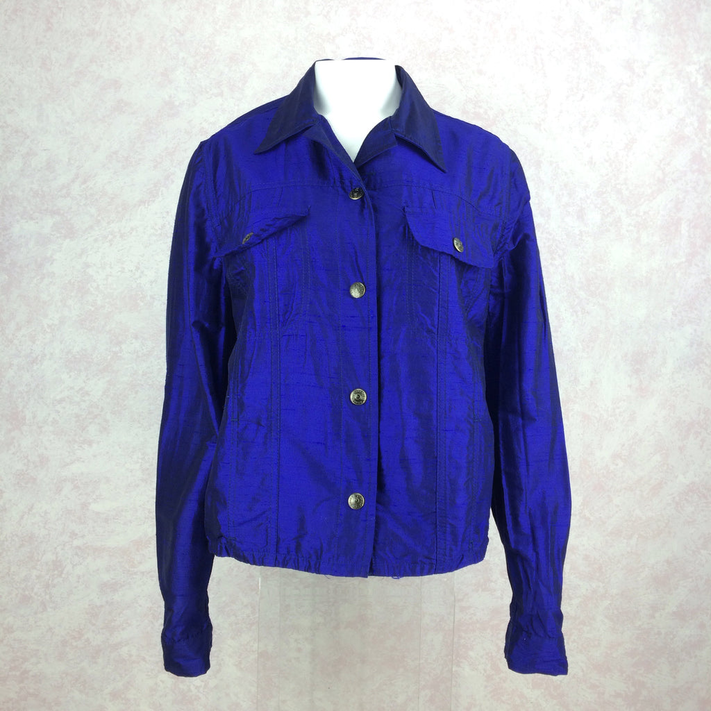 2000s ROMEO GIGLI Snap Front Jacket front
