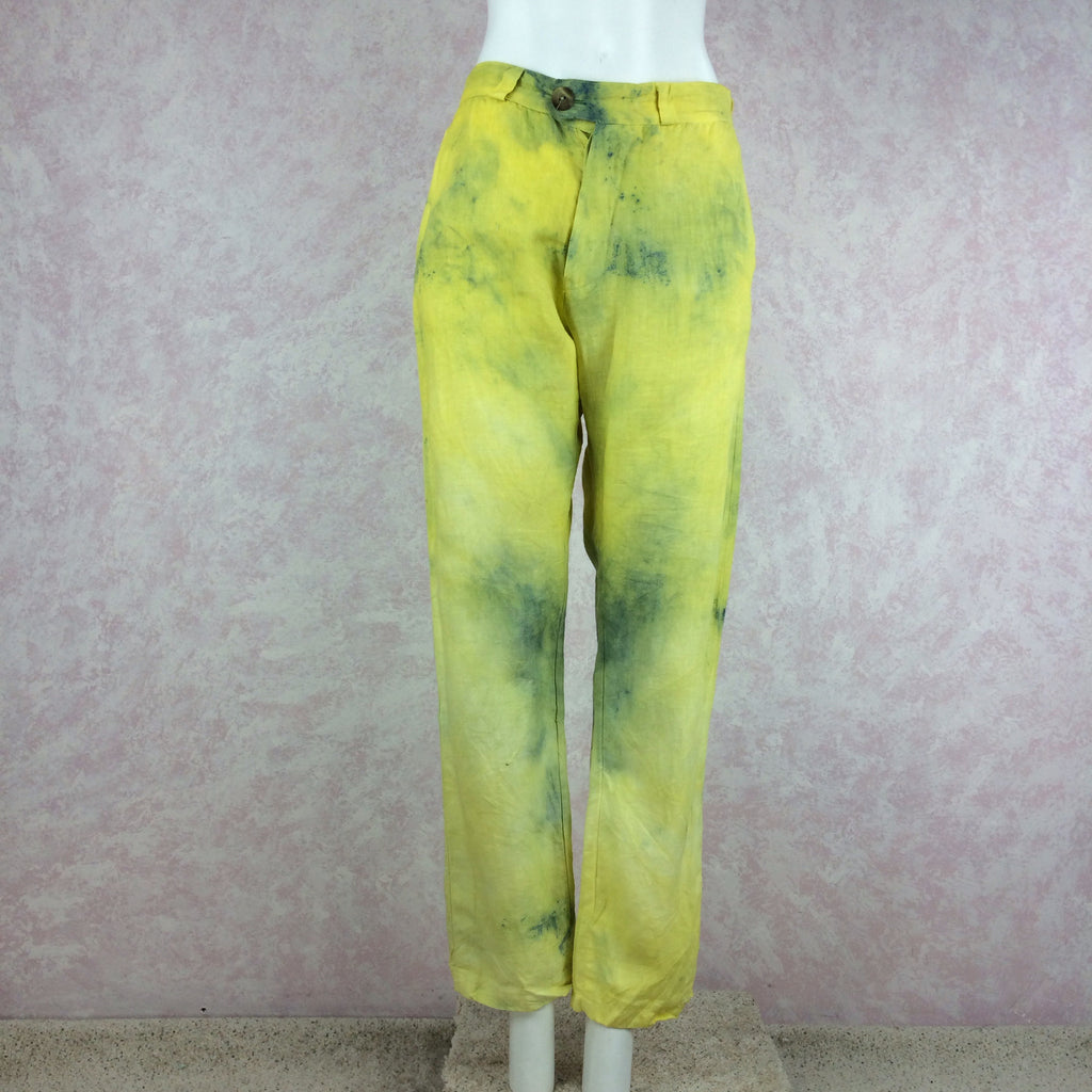 The People of the Labrynths Tie Dye Slacks back