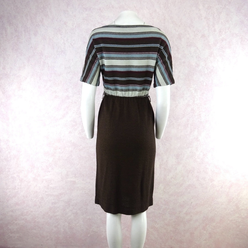 Vintage 60s KORET Cotton Knit Outfit- Dress & Cardigan bb