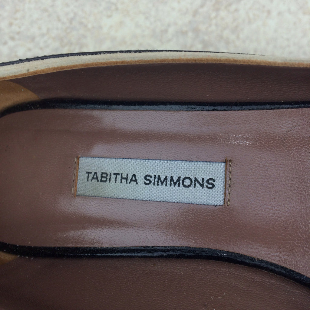 2000s TABITHA SIMMONS Two-Tone Pumps, Label