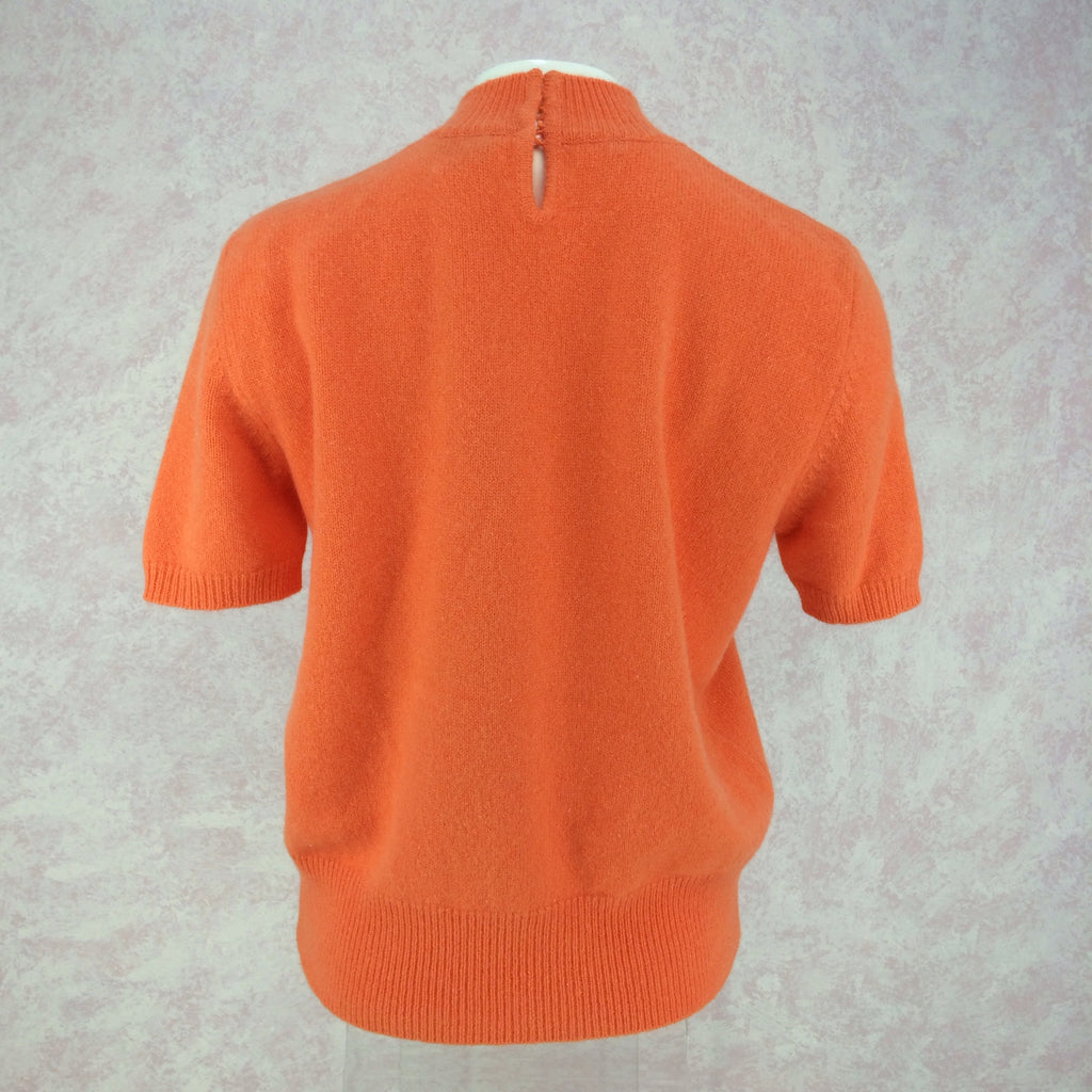 2000s BLUMARINE Wool Twinset, Top.  Back